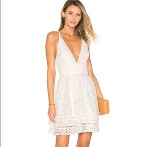 Lovers + Friends White Moon Dance Dress